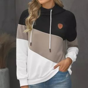 Cowl Neck Hoodie Pullover
